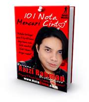 Buku Nota Cinta Razzi Rahman