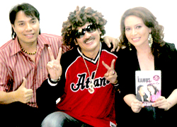 Razzi Rahman & Cat bersama Ac Mizal