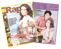 Razzi Rahman - Media